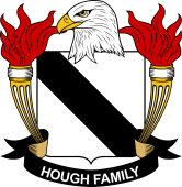 American Coat of Arms for Hough