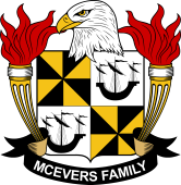 American Coat of Arms for McEvers