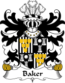 Welsh Coat of Arms for Baker (of Abergavenny)