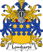 Italian Coat of Arms for Lombardi