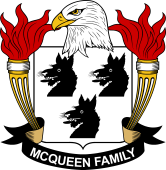 American Coat of Arms for McQueen