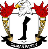 American Coat of Arms for Gilman