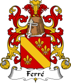 Coat of Arms from France for Ferré