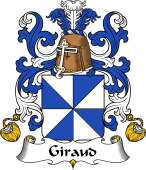 Coat of Arms from France for Giraud