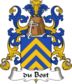 Coat of Arms from France for Bost (du)