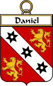 French Coat of Arms Badge for Daniel