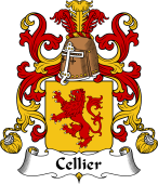 Coat of Arms from France for Cellier