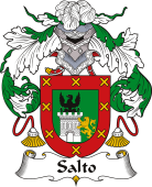 Spanish Coat of Arms for Salto