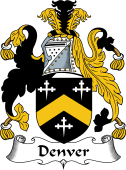 English Coat of Arms for Denver