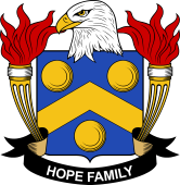 American Coat of Arms for Hope