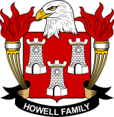 American Coat of Arms for Howell
