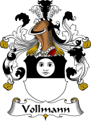 German Wappen Coat of Arms for Vollmann