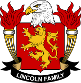 American Coat of Arms for Lincoln