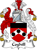 English Coat of Arms for Coghill
