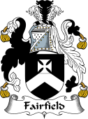 English Coat of Arms for Fairfield