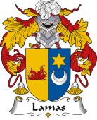 Spanish Coat of Arms for Lamas