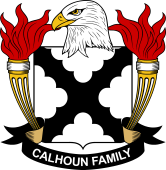 American Coat of Arms for Calhoun