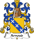 Coat of Arms from France for Arnoud