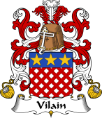 Coat of Arms from France for Vilain