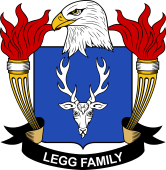 American Coat of Arms for Legg