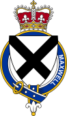 Families of Britain Coat of Arms Badge for: Maxwell (Scotland)