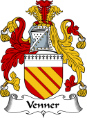 English Coat of Arms for Venner