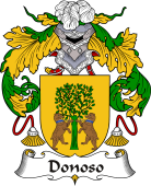 Spanish Coat of Arms for Donoso