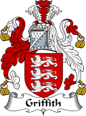English Coat of Arms for Griffith (Wales)