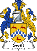English Coat of Arms for Swift