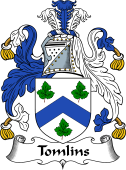 English Coat of Arms for Tomlins