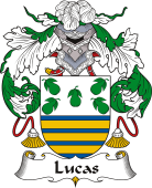 Spanish Coat of Arms for Lucas