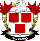 American Coat of Arms for Hay
