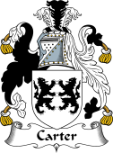 Irish Coat of Arms for Carter