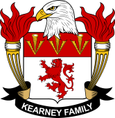 American Coat of Arms for Kearney