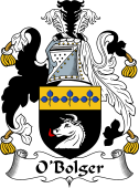 Irish Coat of Arms for O'Bolger or Boulger