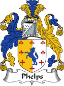 English Coat of Arms for Phelps