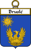 French Coat of Arms Badge for Bruslé