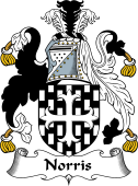 English Coat of Arms for Norris or Norreys II