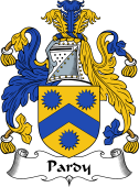Scottish Coat of Arms for Pardy