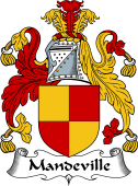 English Coat of Arms for Mandeville