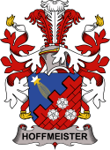 Danish Coat of Arms for Hoffmeister