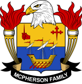 American Coat of Arms for McPherson