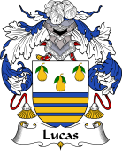 Portuguese Coat of Arms for Lucas