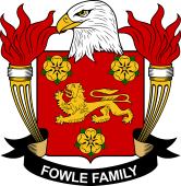 American Coat of Arms for Fowle