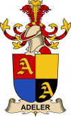Republic of Austria Coat of Arms for Adeler
