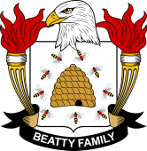 American Coat of Arms for Beatty
