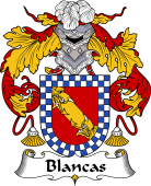 Spanish Coat of Arms for Blancas