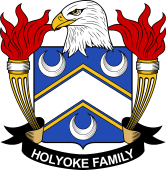 American Coat of Arms for Holyoke