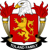 American Coat of Arms for Toland