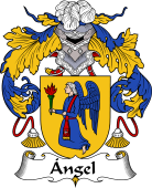 Spanish Coat of Arms for Ángel
